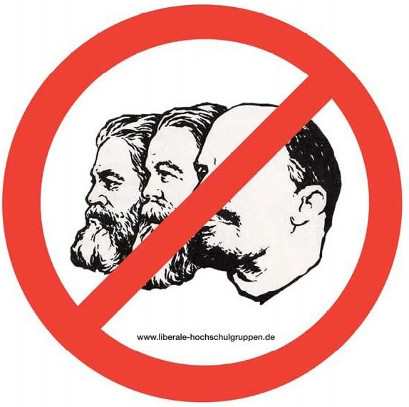 LHG Aufkleber Liberale Antikommunismus