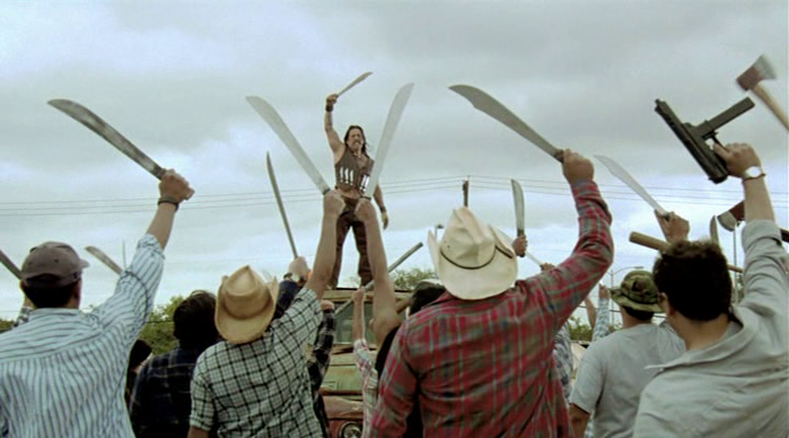 Machete revolution insurrection