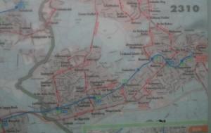 Bensberg Map