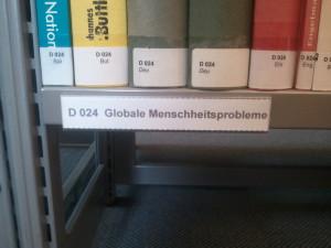 Bibliothek Halberstadt Regal Signatur D024