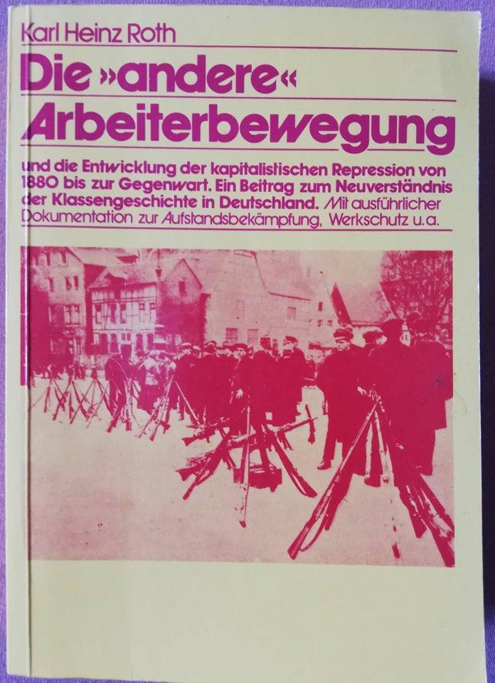 """Buchcover Roth """"Die andere Arbeiterbewegung"""""""